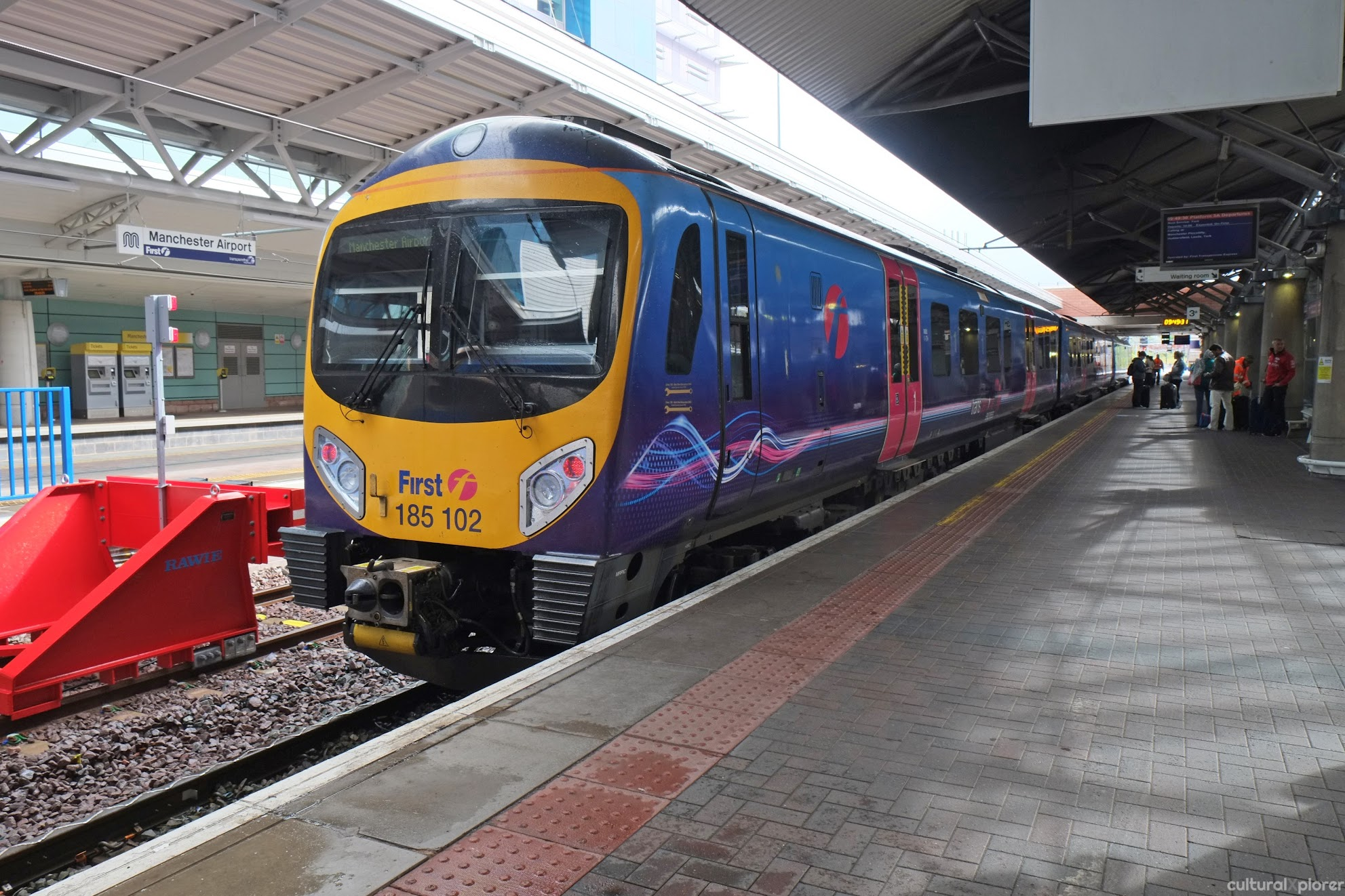 Manchester Airport Train