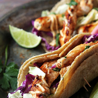 Jamaican Jerk Chicken Tacos.