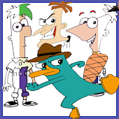 How to draw Phineas and Ferb Characters