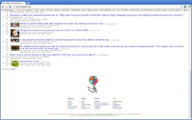 scroll persistent subreddit bar