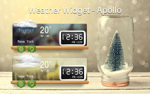 Weather & Clock Widget - Alpha Screenshot