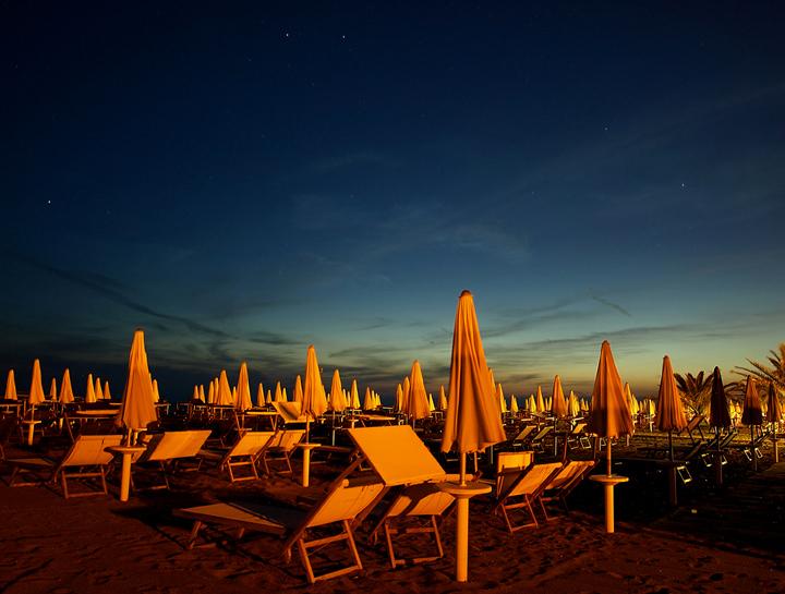 Notte arancio di Mirko Macari Fotografia
