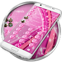 Dialer Sparkling Pink Theme for Drupe or ExDialer icon