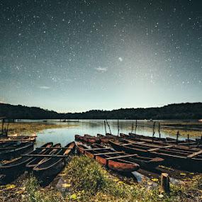 Starry Night by Mario Wibowo - Landscapes Starscapes ( studio, bali, mario, 2013, star, travel, mwp, mario wibowo, kelapa gading, night, wibowo, trip, nikon, tour )