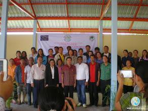 Photo: Participants group photo , Tha Tum, Surin