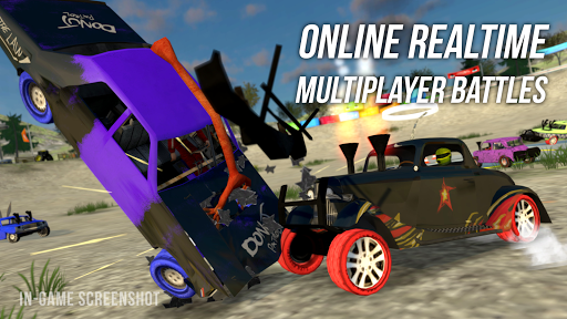 Demolition Derby Multiplayer Screenshot