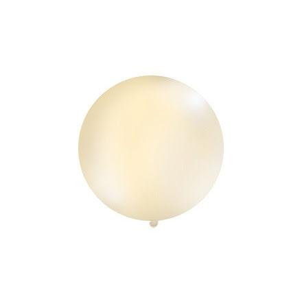 Jätteballong Creme