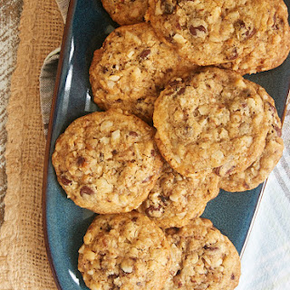 Chocolate Chip Date Nut Cookies.