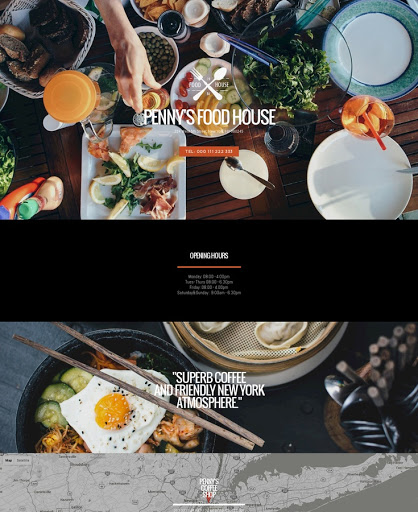 Build a Eclectic eats Website