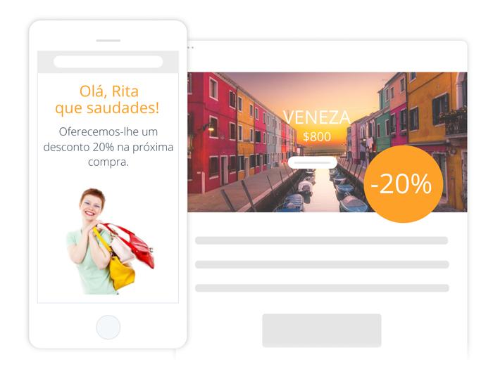 Ideal para Marketing no Turismo - Encoraje-os a Voltar | E-goi