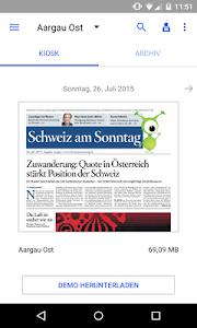 Schweiz am Sonntag - E-Paper screenshot 0