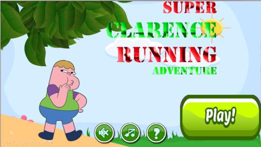 klarence running adventure