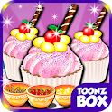 Sweet Candy Cup Cake Cooking icon