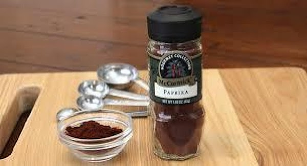 If desired, dust the top with paprika.