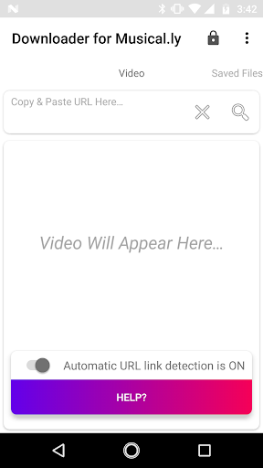 Downloader for Musical.ly 3.3 screenshots 1