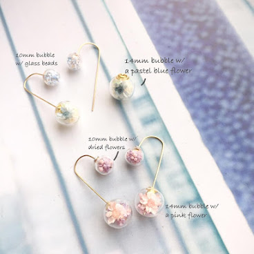 😮 Few ways to wear this lovely pair~ #igshop #handmade #accessories #nonpierced #handmadejewelry #bracelet #necklace #rings #studs #bangle #earrings #pressedflower #CZ #crystals #valentinesday #pekinese #寵物頸鏈 #頸鏈 #戒指 #手鐲 #手額 #耳環 #壓花 #押花 #夾耳環 #情人節禮物 #粉晶 #手作市集 #英文字母 #姊妹手飾