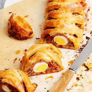 Sausage Pastry Twist Recipe