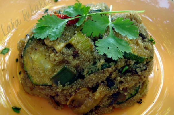 Amaranth with Vegetables From Wok Recipe
