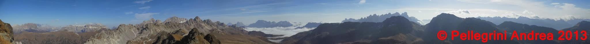 Photo: Panorama 9 visione dolomitica dalla Cresta dei Monzoni