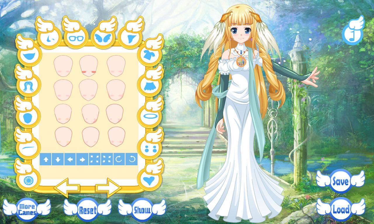Dress up your pet game - Dress Up Angel Avatar Games Screenshot