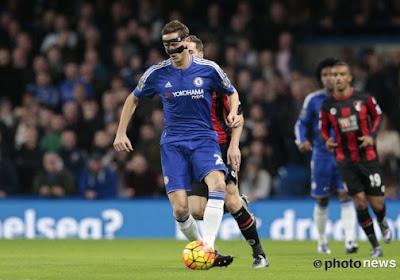 Chelsea-middenvelder Nemanja Matic weet dat zijn ploeg nog een lange weg moet afleggen ondanks 33 op 33