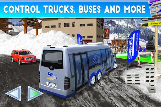 Winter Ski Park: Snow Driver 1.0.1 screenshots 3