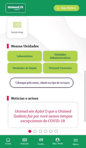 Unimed Goiânia screenshot 2