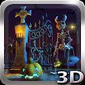 Halloween Cemetery 3D LWP icon