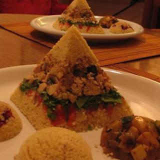 Feng Shui Cous-Cous Pyramids