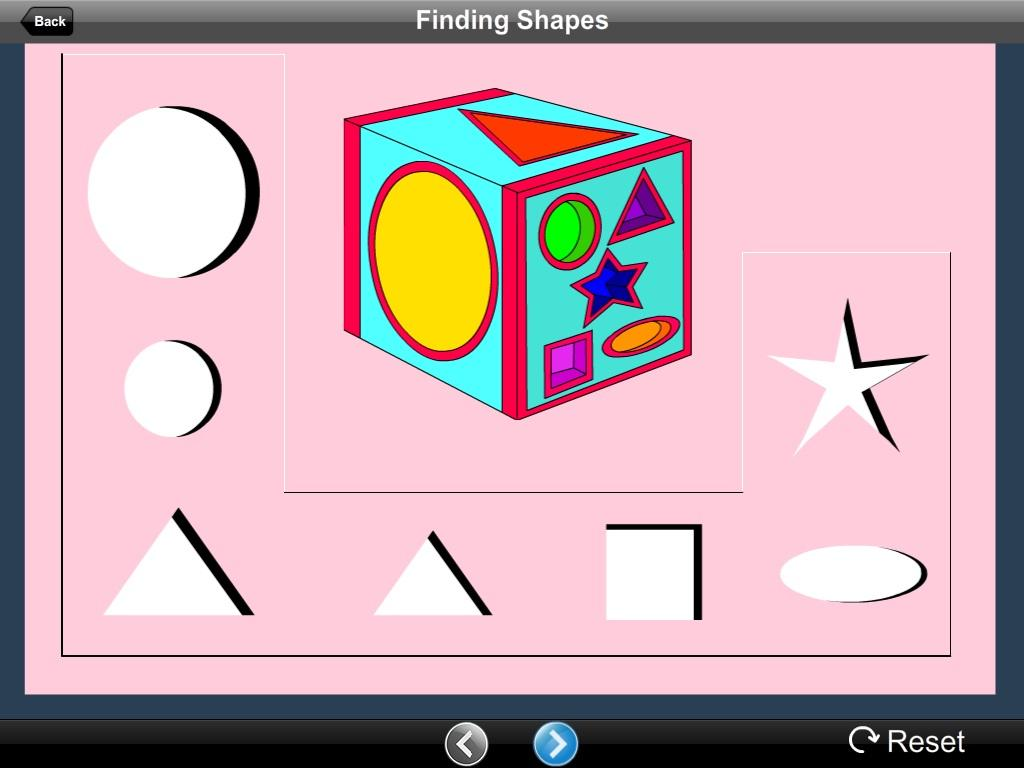 Finding Shapes Lite Version- screenshot