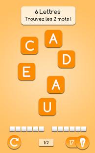 trouver des mots avec des lettres