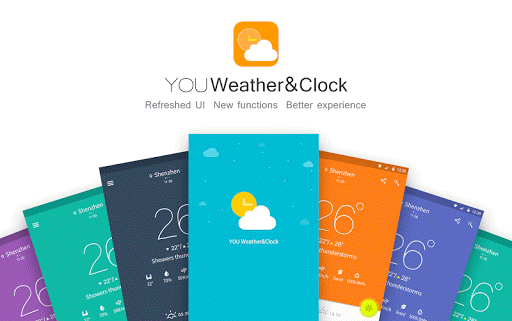 YOU Weather Clock-small widget