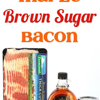 Easy Maple Brown Sugar Bacon!