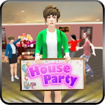 Virtual House Party Simulator: Happy Family 1.03