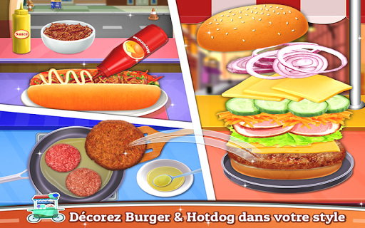Street Food - Cooking Game captures d'u00e9cran 2