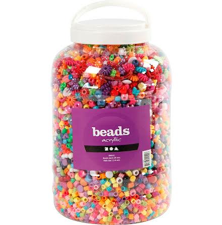 Pärlor figurmix 3kg