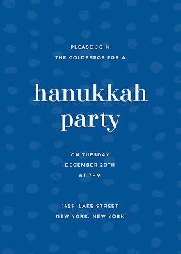 Annual Hanukkah Party - Hanukkah item