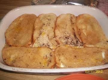 Overnight Creme Brulee French Toast