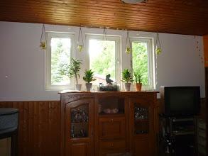 Photo: Und weiter geht es mit der Deko fürs Wohnzimmer, die Kartons müssen ja leer werden.