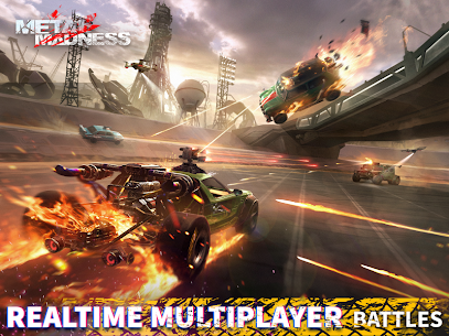 METAL MADNESS PvP: Car Shooter & Twisted Action 10
