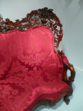 Photo: Detail of sofa  by John H. Belter  (1804–1863) .