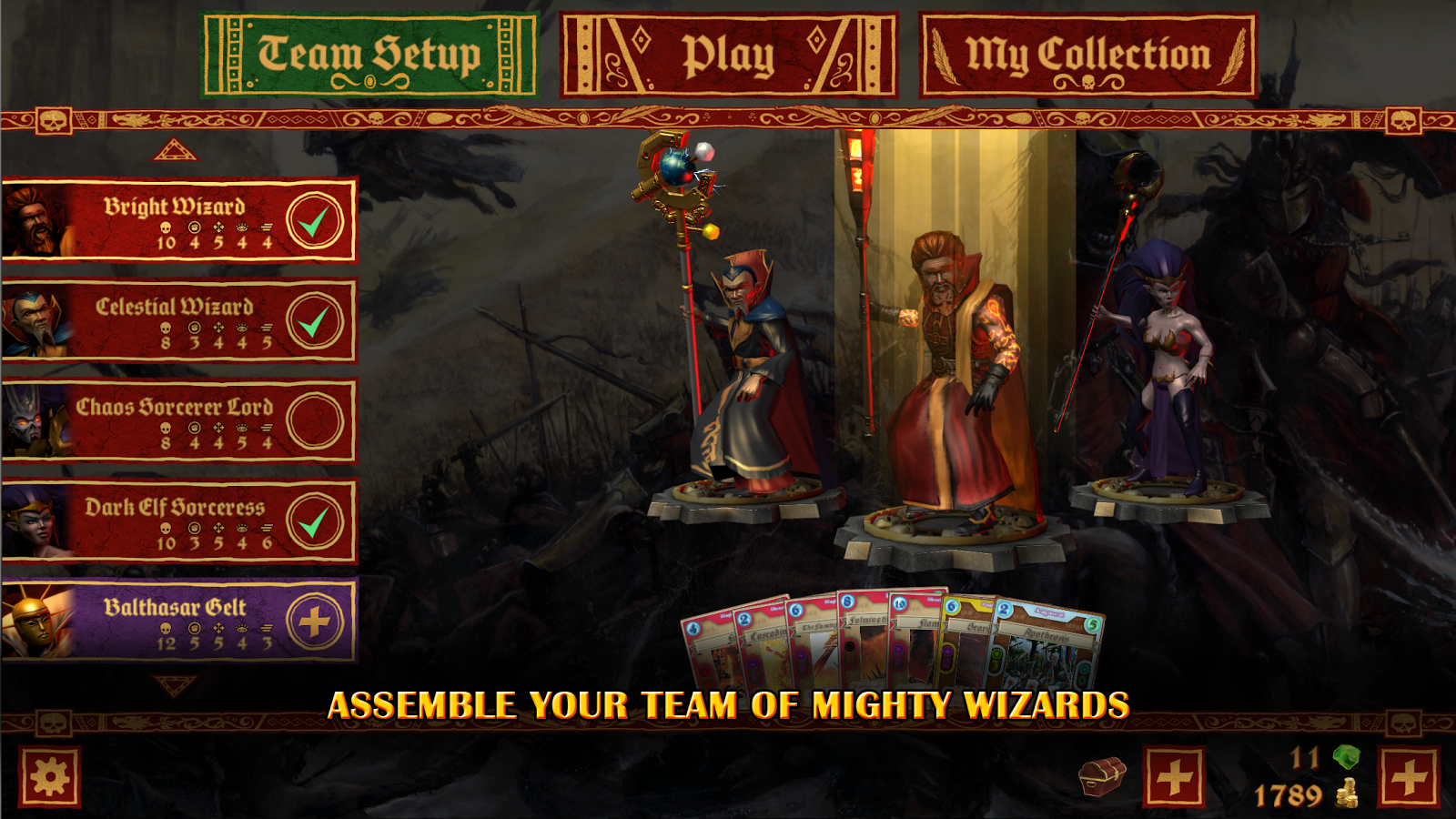 Warhammer: Arcane Magic- screenshot