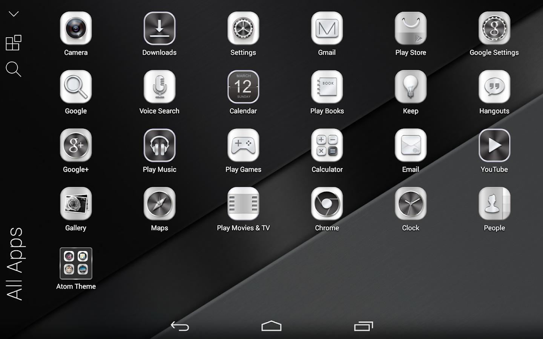 Google chrome theme iron man - Black Onyx Atom Theme Screenshot