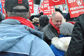 Photo: Sid Ryan is President of the Ontario Federation of Labour (OFL) and a longtime Canadian labour leader.