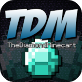 The Diamond Minecart Wallpaper