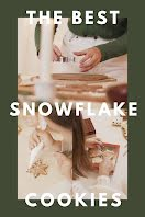 Snowflake Cookies - Photo Collage item