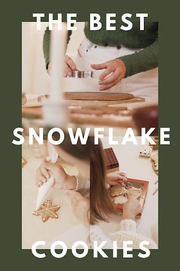 Snowflake Cookies - Video Template