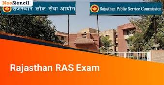Rajasthan RAS Exam