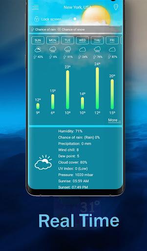 weather and radar live forecast screenshot 3