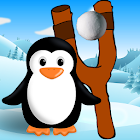 Snow ball fling icon